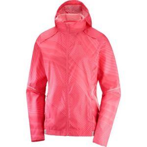 Куртка Salomon Agile Wind Print Hoodie W (C11577)