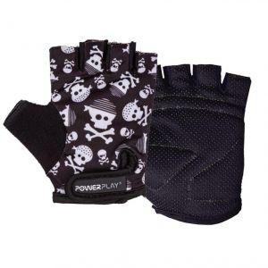 Перчатки велосипедные Powerplay 5454 Skulls