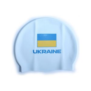 Шапочка для плавания Head Cap Flat Ukrainan Federation