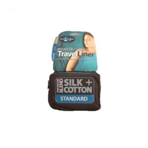 Вкладыш в спальный мешок Sea to summit Silk-Cotton Rectangular Standart
