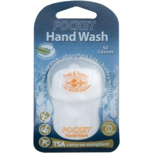 Мыло Sea to summit Trek & Travel Pocket Hand Wash 50 Leaf