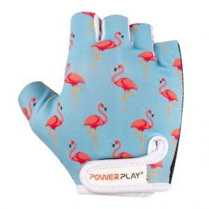 Перчатки велосипедные Powerplay 001 Flamingo