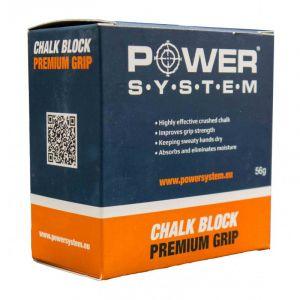 Магнезия Power system Chalk Block Premium Grip
