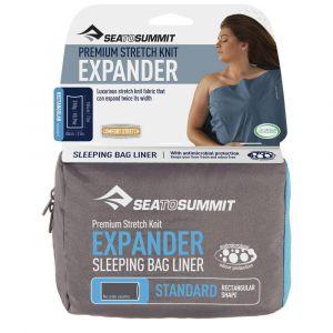 Вкладыш в спальный мешок Sea to summit Expander Liner Hood Navy