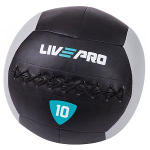 Мяч Livepro Wall Ball LP8100-10 Black/Grey