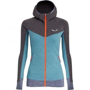 Куртка флисовая Salewa Puez 2 Dry W L/S Hood Fz Tee (27222)