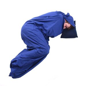 Вкладыш в спальный мешок Trekmates Polycotton Sleeping Bag Liner Mummy